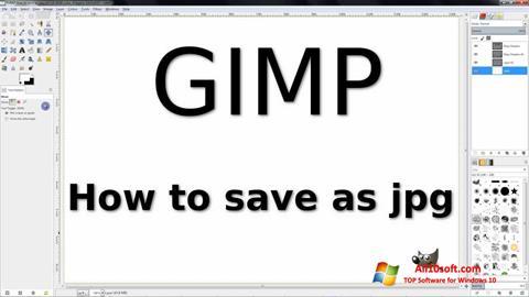 Ảnh chụp màn hình GIMP cho Windows 10