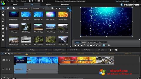 Ảnh chụp màn hình CyberLink PowerDirector cho Windows 10