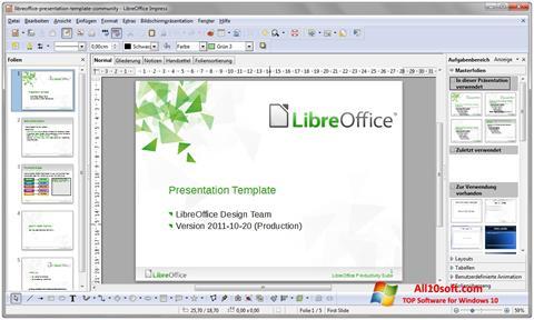 Ảnh chụp màn hình LibreOffice cho Windows 10
