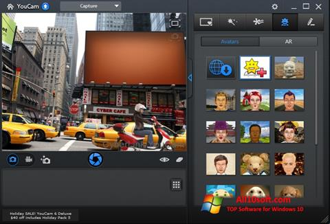 Ảnh chụp màn hình CyberLink YouCam cho Windows 10