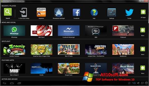 Ảnh chụp màn hình BlueStacks cho Windows 10