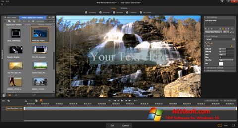Ảnh chụp màn hình Pinnacle Studio cho Windows 10