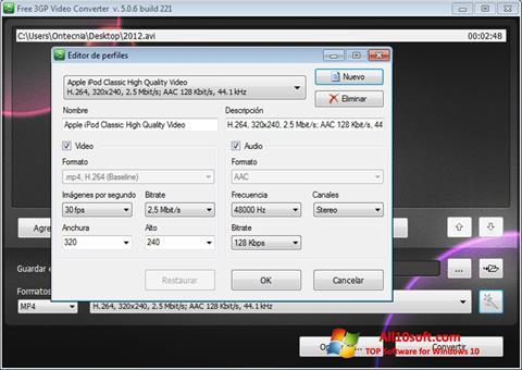 Ảnh chụp màn hình Free MP4 Video Converter cho Windows 10